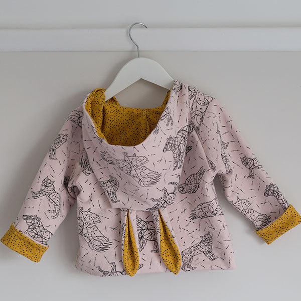 Baby jacket with ears! Adding Bunny Ears to Kids Clothing