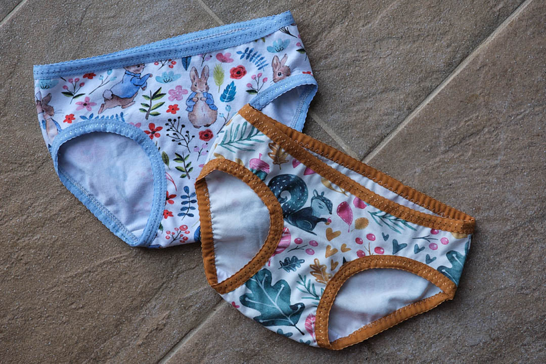 Making Kids Underwear from scraps