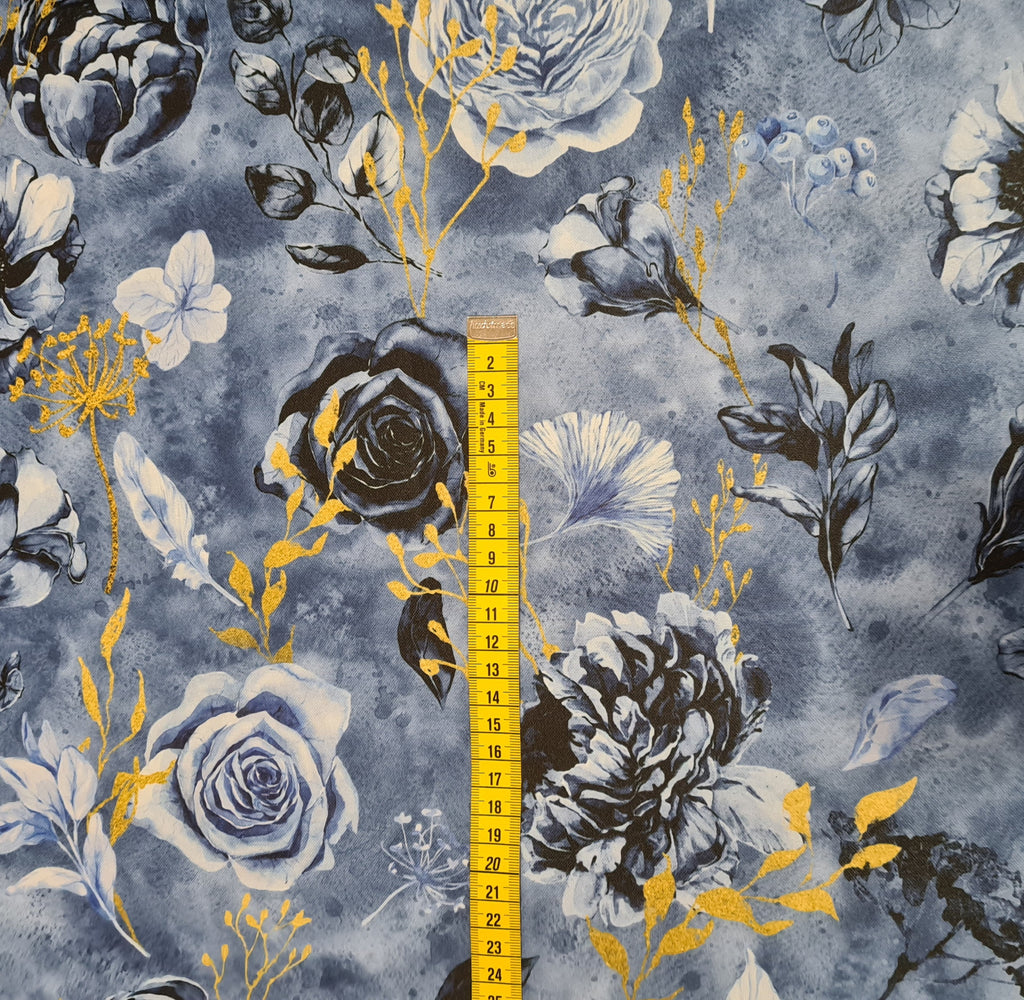Twilight Garden Waterproof Fabric, sold by half metre
