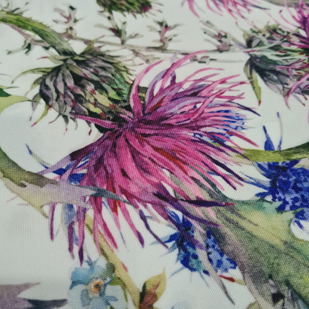 Waterproof Fabric Thistle , priced by half metre