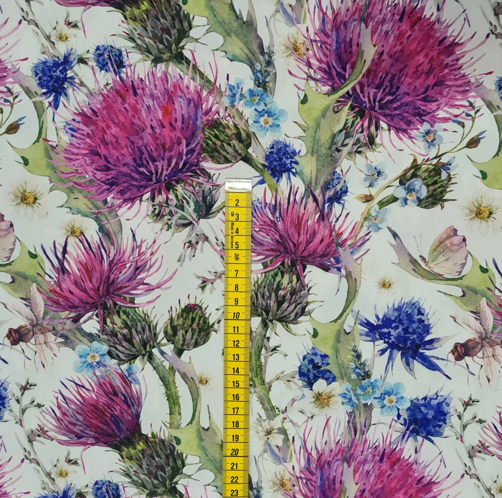 Thistle Waterproof Fabric, sold by half metre
