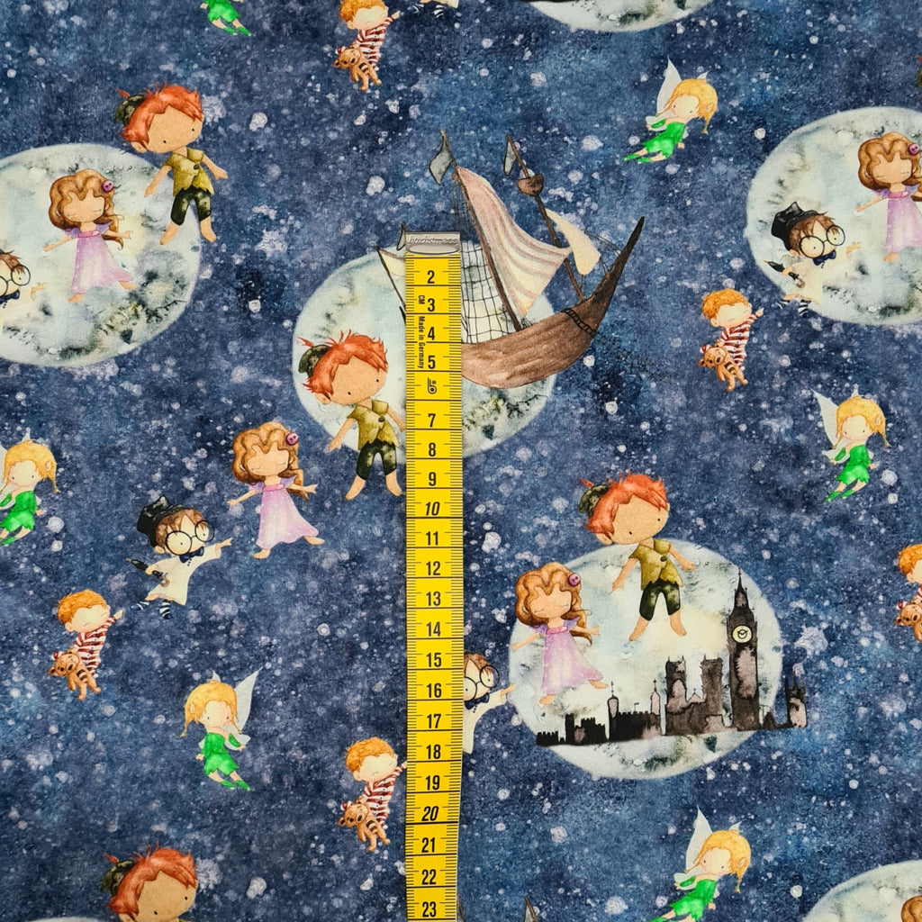 Peter Pan Single Jersey, sold by half metre