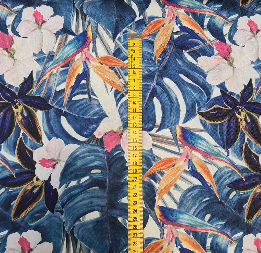 Waterproof Fabric Paradise priced by half metre