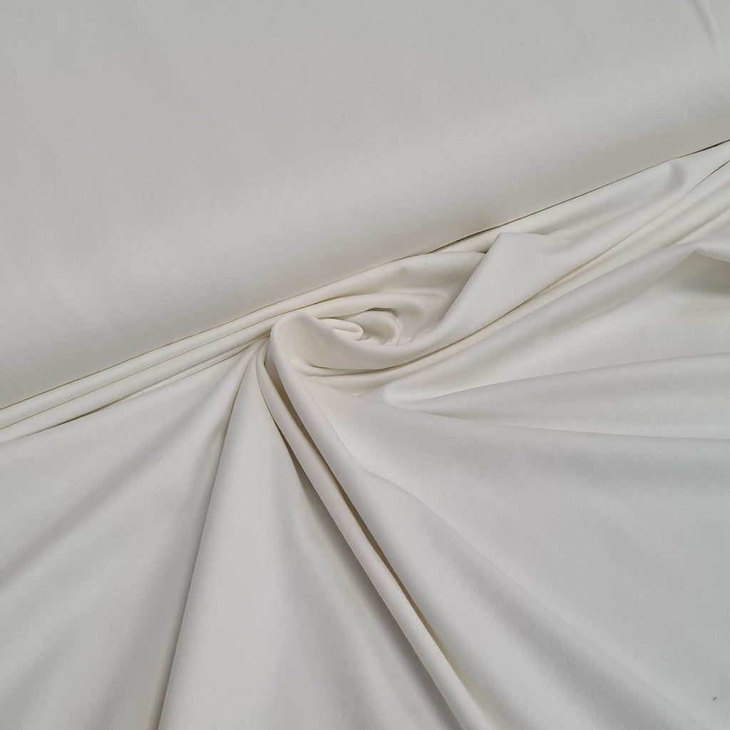 Cream Jersey, sold by half metre
