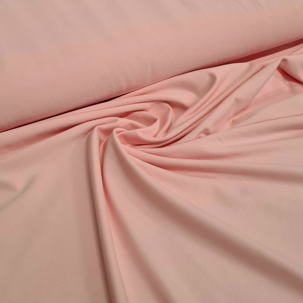 Light Pink Plain Jersey, sold by half metre