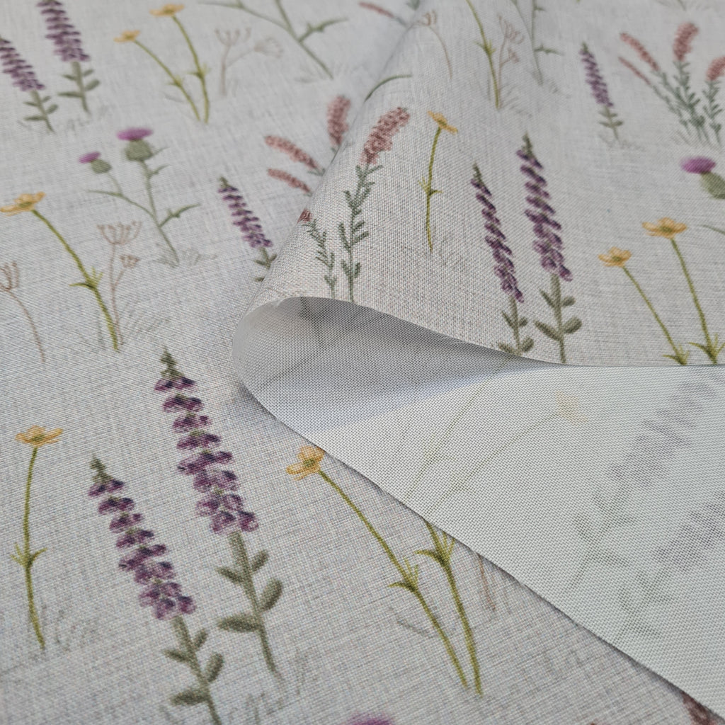Waterproof Scottish Meadow Fabric, sold by half metre