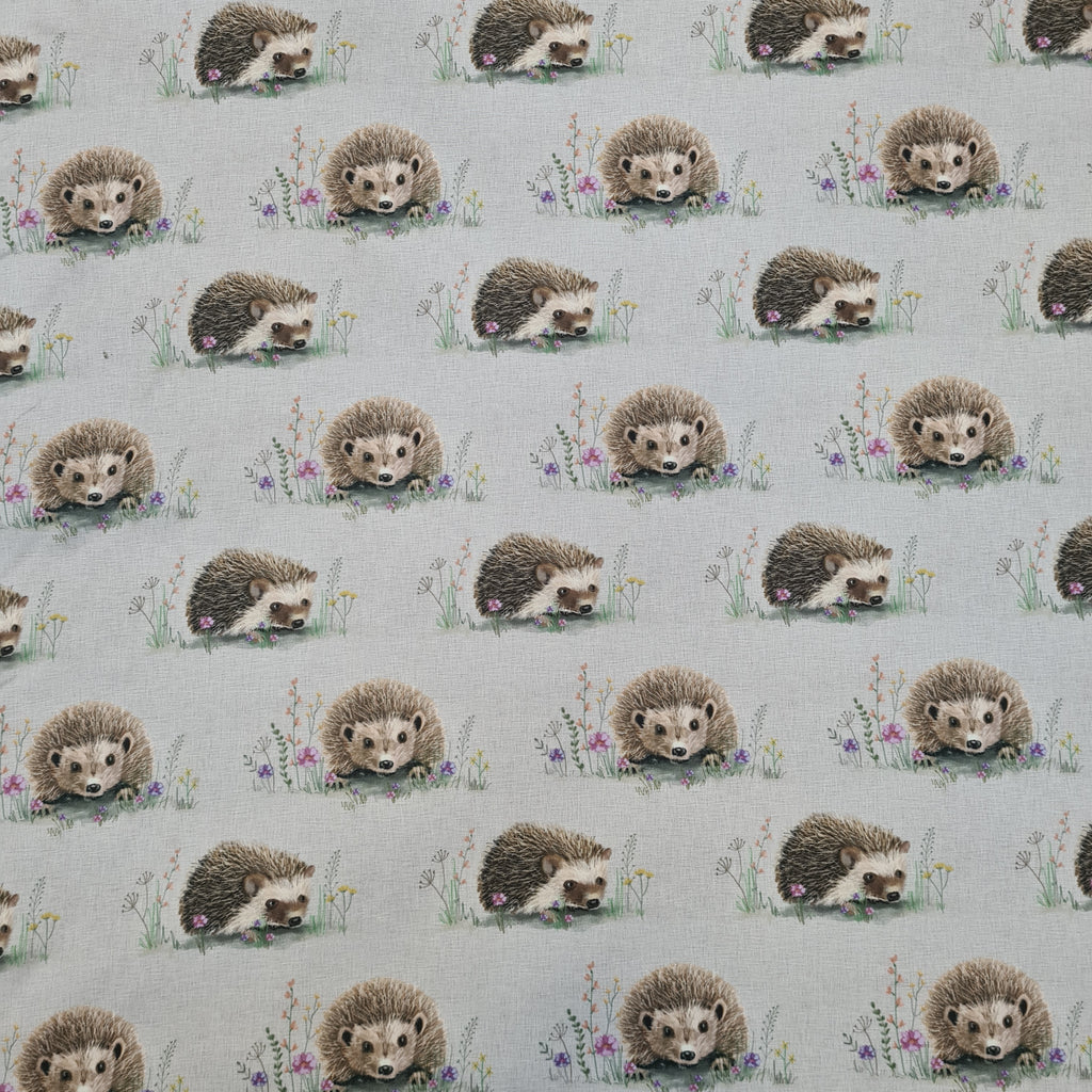 Waterproof Hedgehog Fabric, sold by half metre