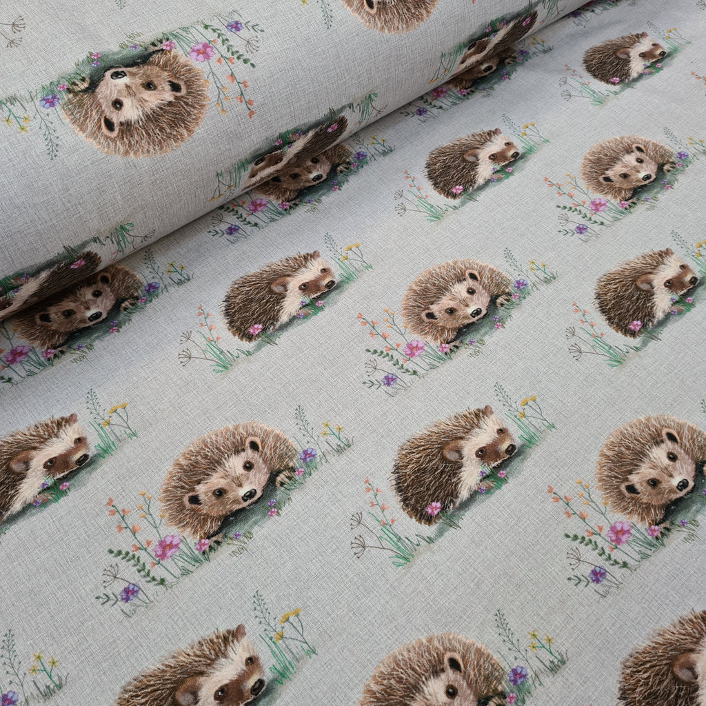 Hedgehog Jersey, sold by half metre
