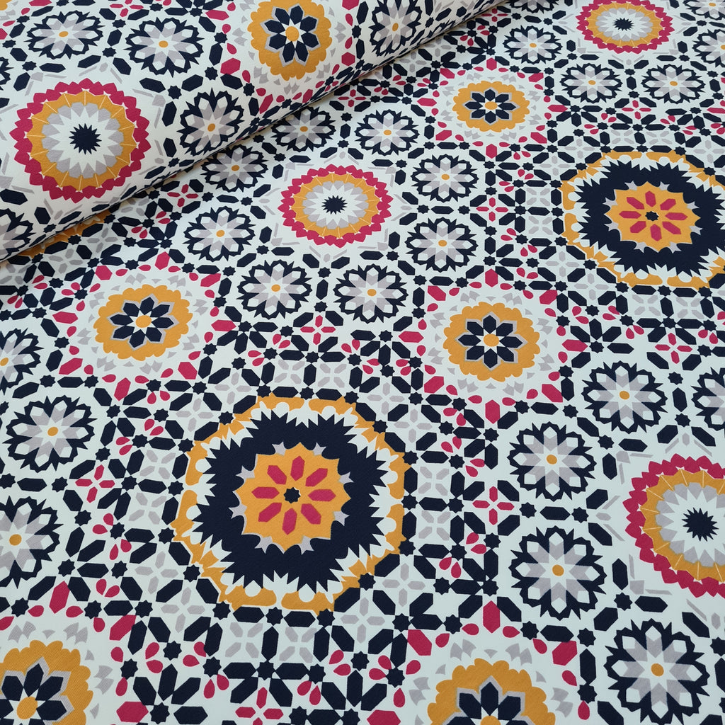 Kaleidoscope French Terry, priced by half metre