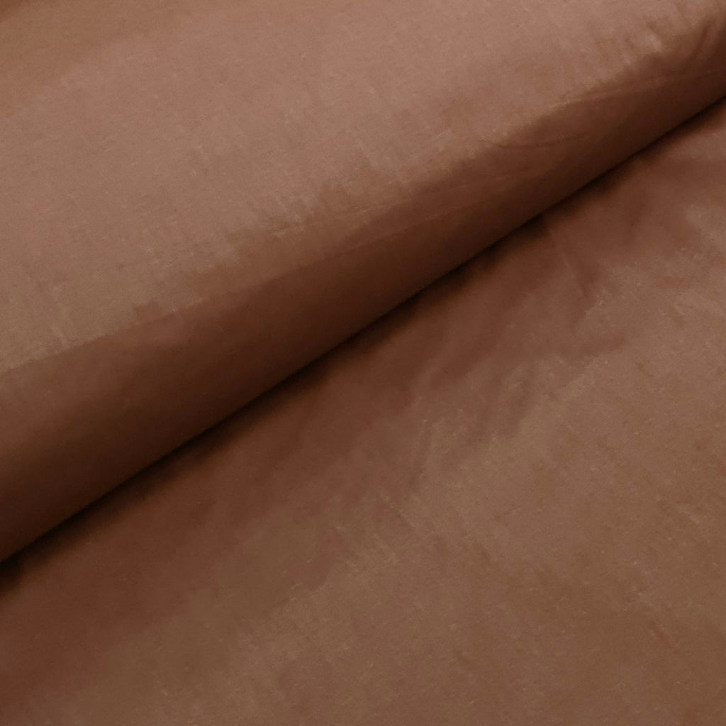 Plain Brown Cotton, sold by half metre