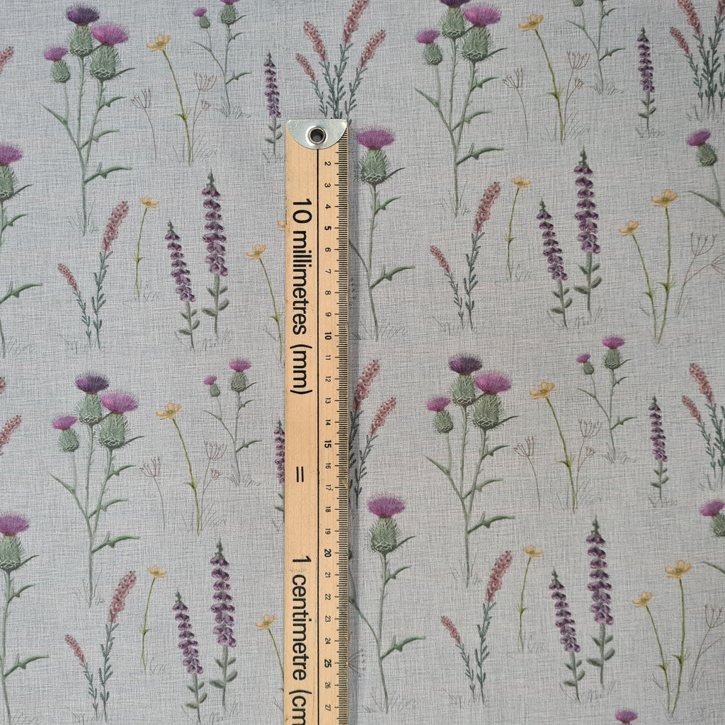 Woven Cotton Scottish Meadow, priced by half metre