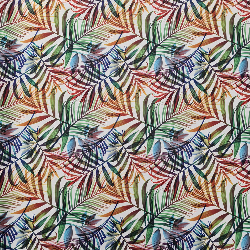 Waterproof Fabric Palm Leaves, priced by half metre