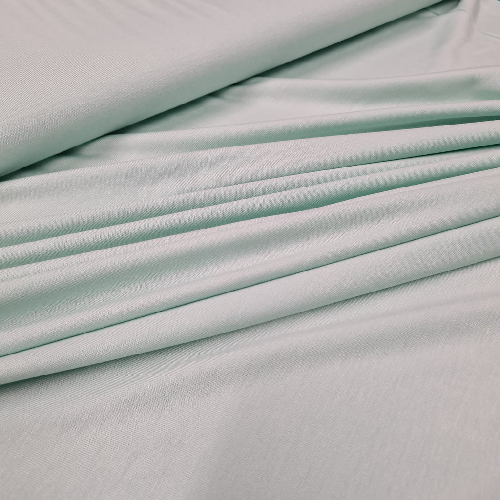 Mint Viscose Jersey, priced by half metre
