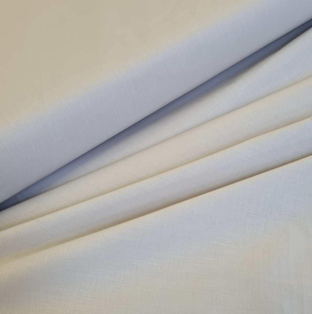 Plain Silver Grey Cotton, priced by half metre