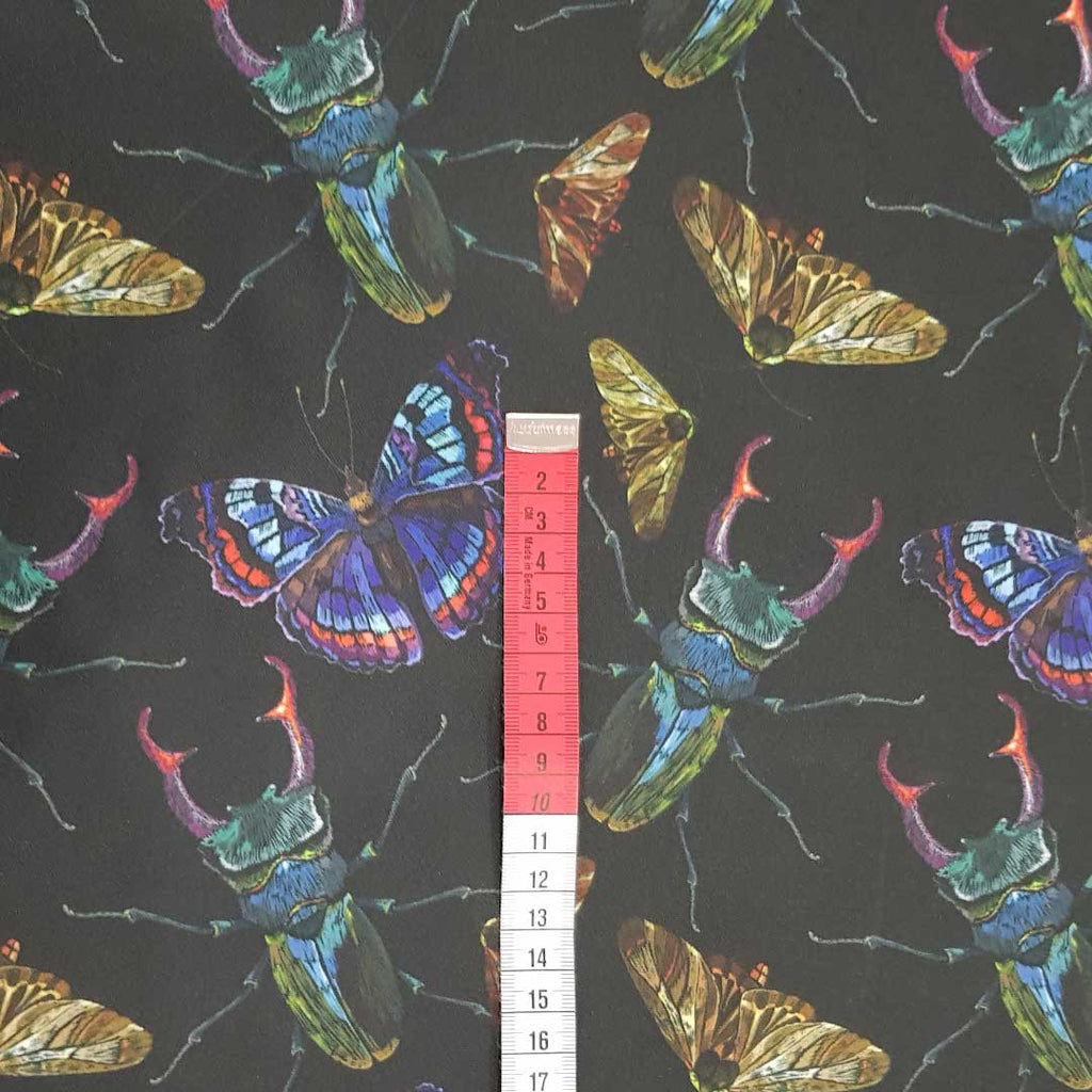 Insects Waterproof Fabric, sold by half metre