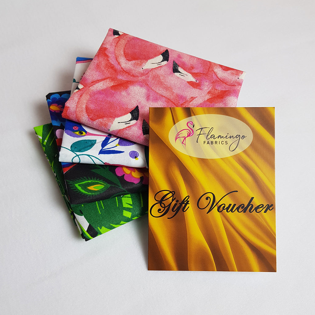 Gift Voucher with free Fat Quarter Bundle