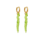 Posidonia earrings Green
