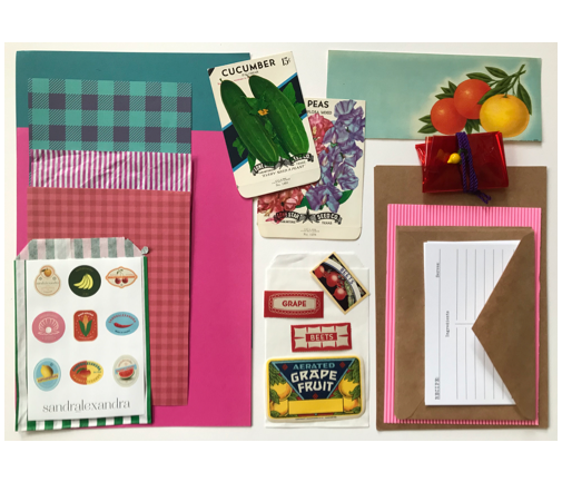 Collage Parcel - Market Treasures & Fruity Trinkets