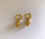 Gold Lemon Earrings