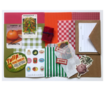 Build your own Collage Parcel 12 - Market Treasures & Fruity Trinkets