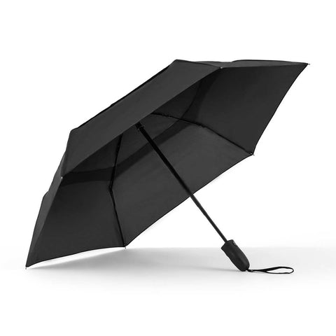 collapsible black umbrella ~ Mr. Black