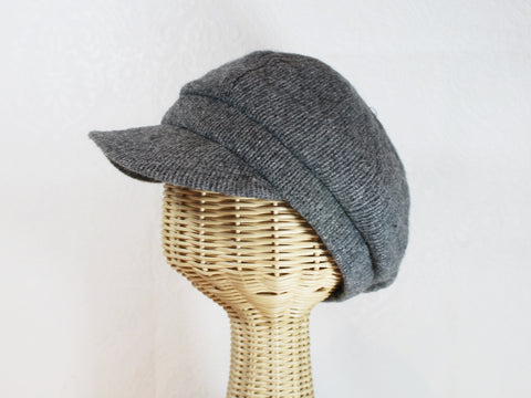 knit cabbie hat ~ Penny