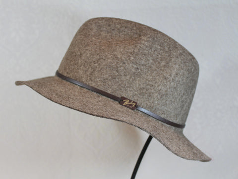 packable travel friendly lightweight wool fedora