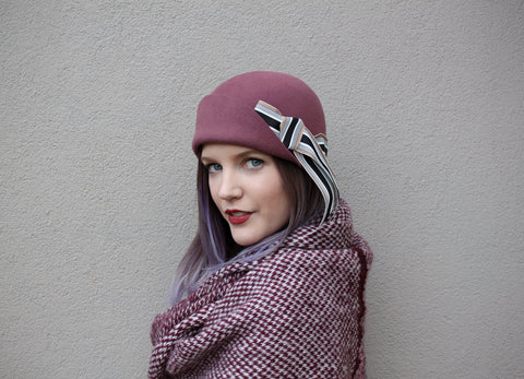 vintage inspired cloche ~ Amelie