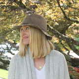 travel friendly wool fedora ~ Hudson