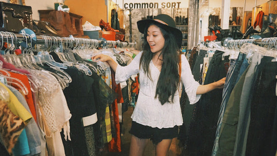 Thrifting, Vintage and Personal Style with Anna from There She Goes