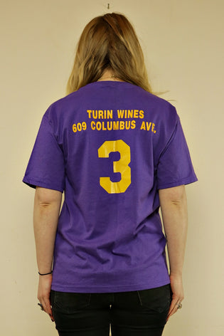 Vintage Purple & Yellow Super Soft Baseball T-Shirt - Tigers Eye | Boho & Grunge Vintage Clothing & T-shirts for Women