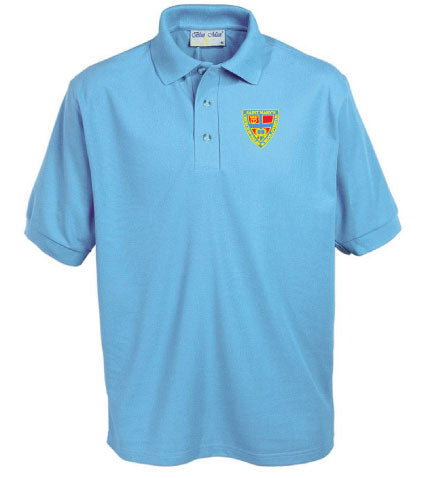 St Marys Primary School Sky Blue Polo Shirt
