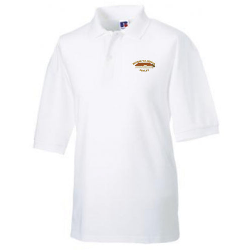 Madras VA Primary School White Polo Shirt
