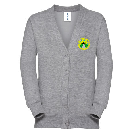 Borras Park School Sweat Cardigan