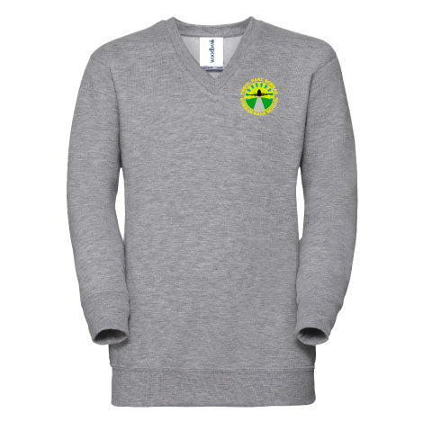 Borras Park School V Neck Sweatshirt