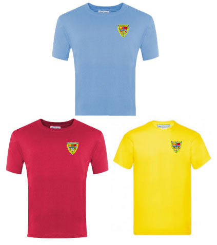St Marys Primary School House PE T-shirt