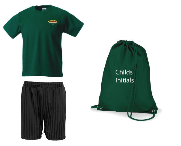 Madras VA Primary School PE Kit in a Bag