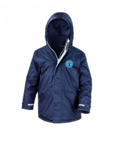 Whitchurch Church of England Federation Navy Blue Parka Jacket