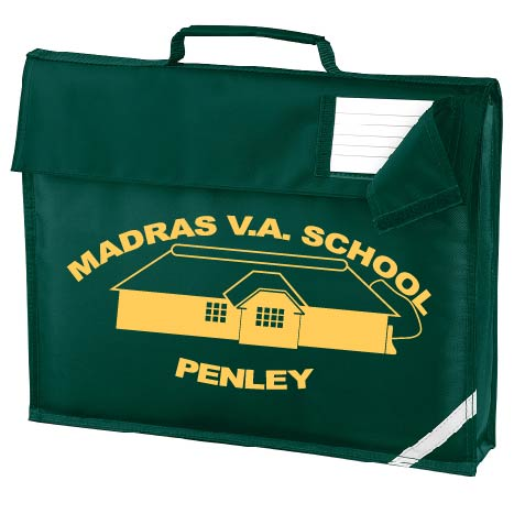 Madras VA Primary School Book Bag