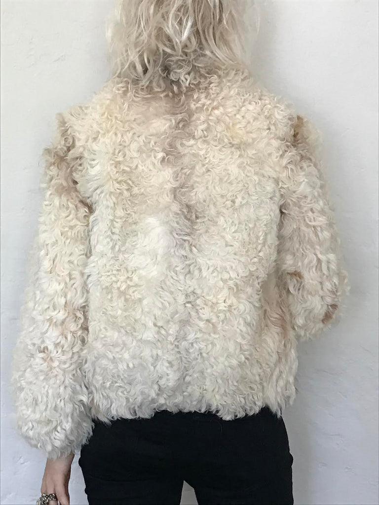 Beautiful Faux Shearling Jacket