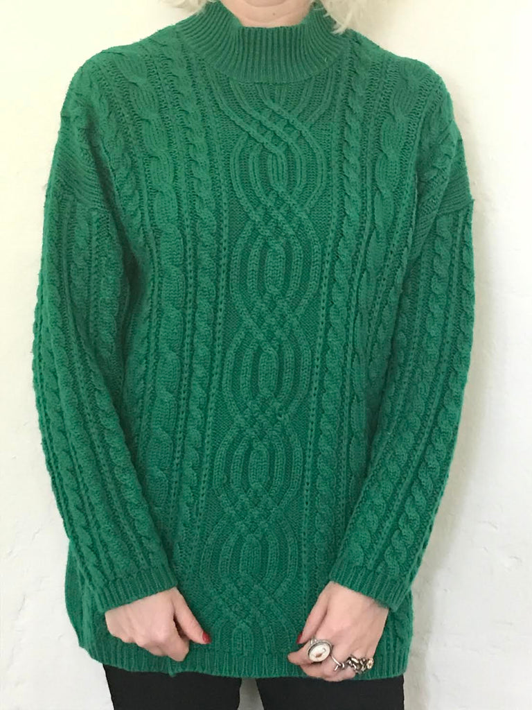 Cosy Green Sweater
