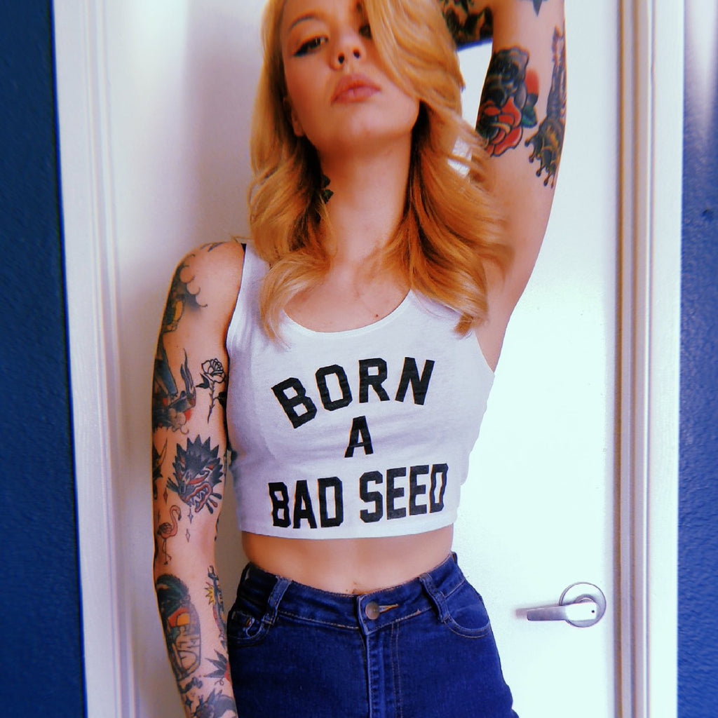 Born A Bad Seed™ Summer Crop Tank
