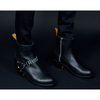Black High Road Boots
