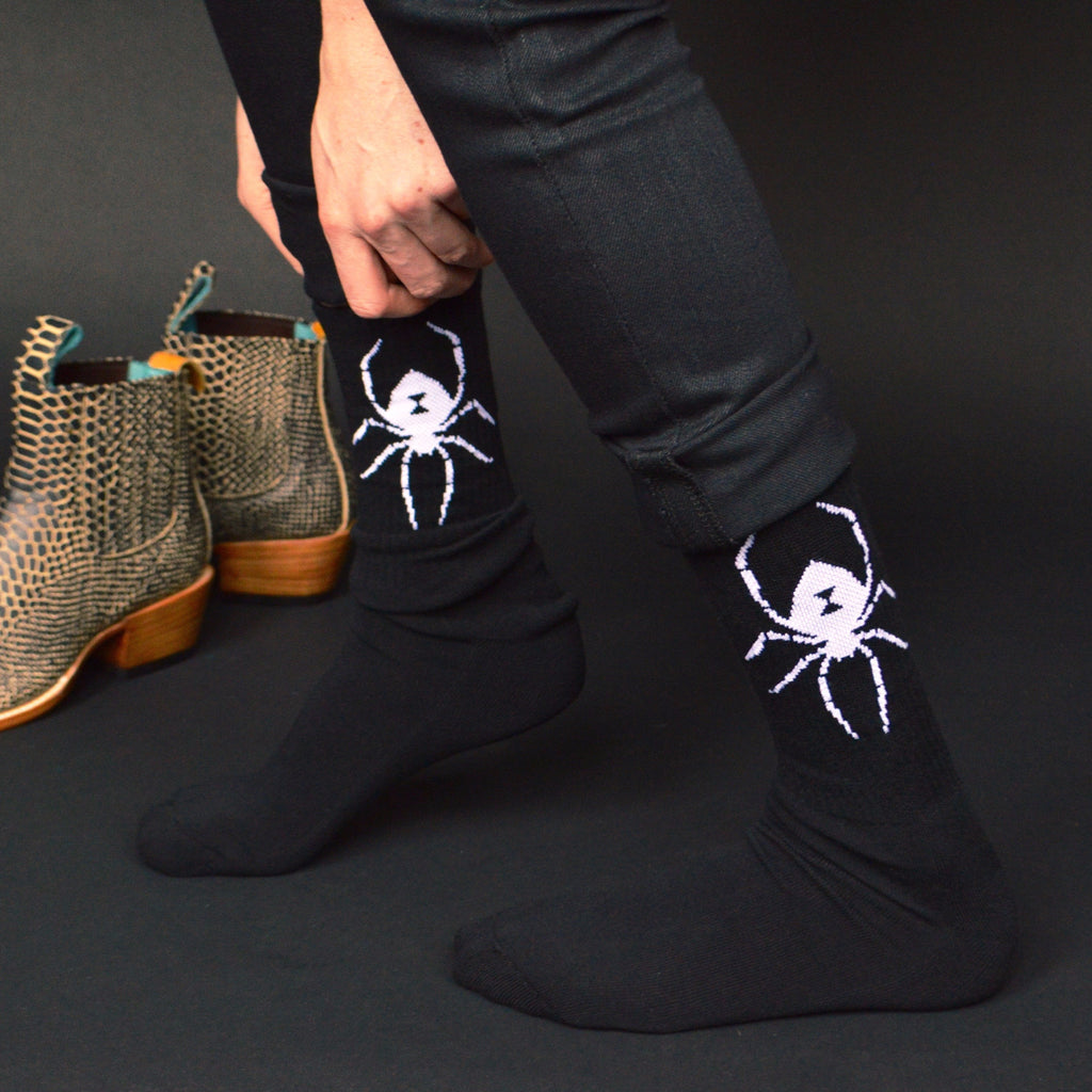 Black Widow Socks