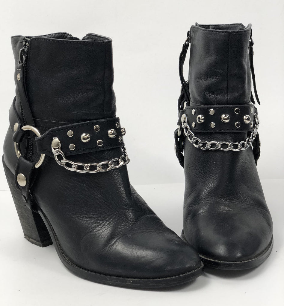 Hellbent Studded Leather Bootstrap