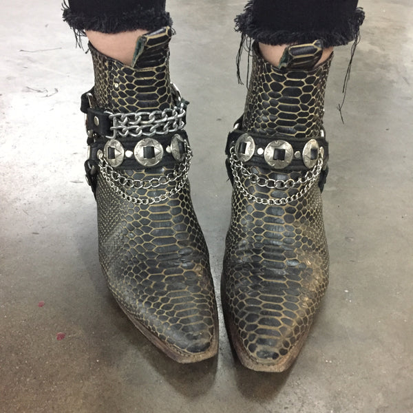 HellBent Concho n Chains Bootstraps