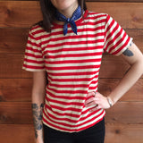 70's Red & White Stripe Tee