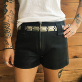 60's Leather Shorts