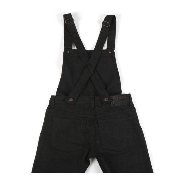 N&F Black Denim Overalls