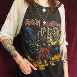 Insane Thrashed Iron Maiden Tee